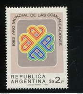 427083046 ARGENTINIE DB 1983 POSTFRIS MINTNEVER HINGED POSTFRIS NEUF YVERT 1381 - Argentinien