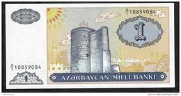 AZERBAIJAN  P14  1 MANAT  1993    UNC. - Azerbaïdjan
