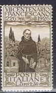 DO 5650 ITALIE YVERT NR 191  GOM SCHARNIER  ZIE SCAN - 1900-44 Vittorio Emanuele III
