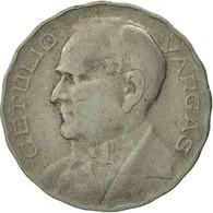 Brésil, 300 Reis, 1938, TTB+, Copper-nickel, KM:546 - Brésil
