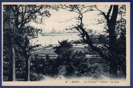 "29 BREST Le Croiseur ""Colbert"" En Rade - Brest"
