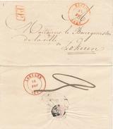 385/25 - Lettre Précurseur EECLOO 1843 En PORT PAYE Vers Le Bourgmestre De LOKEREN - 1830-1849 (Belgique Indépendante)