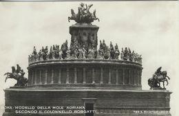 Roma -  Modello Della Mole Adriana  -  Secondo Il Colonello Borgatti.  Italy.  S-3680 - Roma (Rome)