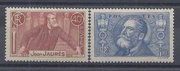 FR - 1936 - N° 318 - 319 - Neufs - X - B/TB - - France