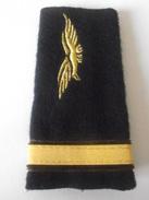 Fourreau Grade Sous-lieutenant Soutache Marron Armée De L'air - Uniformes