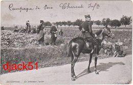 Campagne De Pons (Charente) Infanterie - En Attendant L'action - Manoeuvres