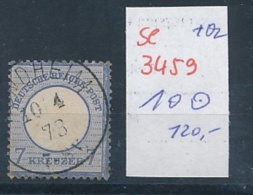 D.-Reich Nr. 10  O ( Se3459  ) Siehe Foto - Germany