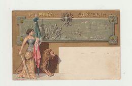WWI CARTOLINA 12° REGGIMENTO FANTERIA - SAN MARTINO - NON VIAGGIATA PRIMI 900 - Reggimenti