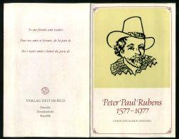 R D A ( DOCUMENT ) : ANNIVERSAIRE  DE  LA  NAISSANCE  DE  RUBENS , A  VOIR . - Briefe U. Dokumente