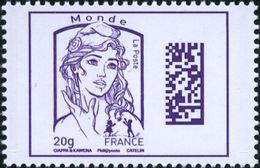 France Marianne De La Jeunesse Par Ciappa Et Kawena N° 4976 ** Dadamatrix Le 20 Grammes Violet Monde - 2013-... Marianne De Ciappa-Kawena