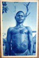 TOGO BEAU TYPE DE CABRAIS  SCARIFICATIONS TATOUAGES  ETHNOLOGIE COUTUMES - Togo