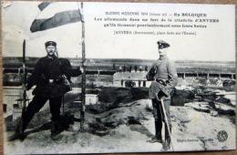 BELGIQUE ANVERS LES ALLEMANDS DANS LA CITADELLE EN 1914 GRANDE GUERRE - Belgien