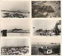 Malo Les Bains - 59 - Lot De De 6 Photographies J. Losfeld Prises à Malo Les Bains Guerre De 1940 - War, Military