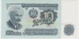 BULGARIE 10 Leva 1974 P96a UNC - Bulgarie