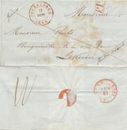 389/25 - Lettre Précurseur POPERINGHE 1848 En PORT PAYE Vers Le Bourgmestre De LOKEREN - 1830-1849 (Belgique Indépendante)