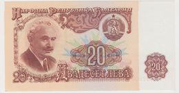 BULGARIE 20 Leva 1974 P97a UNC - Bulgarie