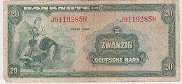 ALLEMAGNE 20 Marks 1948 P6a VG+ - 20 Mark