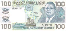 Sierra Leone - Pick 18c - 100 Leones 1990 - Unc - Sierra Leone