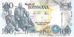 Botswana - Pick 29b - 100 Pula 2005 - Unc - Botswana