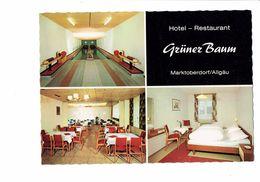 Cpm - Erstklassige Küche Hotel Grüner Baum Restaurant Chambre Salle à Manger Bowling Boule Quilles Marktoberdorf ALLGAU - Bowling