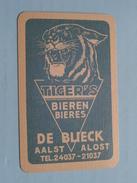 Bieren Tiger's DE BLIECK Aalst Alost ( RUITEN Heer / Koning ) - ( Details - Zie Foto´s Voor En Achter ) !! - Barajas De Naipe
