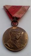 Medalla Siginum Memoriae. Francisco José I. Imperio Austro-Húngaro. Austria. I Guerra Mundial. 1914-1918. - 1914-18