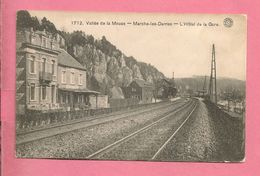 C.P. Marche-les-Dames = Hôtel  De  La  Gare - Namen