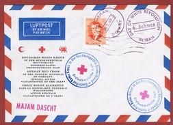 Deutsches Rotes Kreuz Hilfsaktion Erdbeben Iran 1969 - Rotes Kreuz