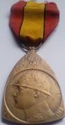 Medalla De La Campaña. Bélgica. I Guerra Mundial. 1914-1918 - 1914-18
