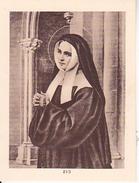 Andachtsbild - Parochia Ad S. Genovefam Mülhausen - 8*6cm (29471) - Andachtsbilder