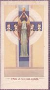 Andachtsbild - Image Pieuse - Voici Le Pain Des Anges - 1954 - 11*6cm (29474) - Geburt & Taufe