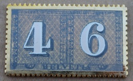TIMBRE SUISSE 4 ET 6 Cts - POSTAL - HELVETIA  - POSTE  -    (18) - Mail Services