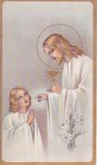 Andachtsbild - Image Pieuse - Jesus Und Kind - Communion - Ste Geneviève Mulhouse 1951 - 10*6cm (29479) - Andachtsbilder
