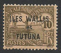 Wallis And Futuna, 10 C. 1920, Sc # J2, MH - Postage Due