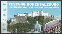 Austria, Salzburg Castle, Entry Ticket - Tickets - Vouchers