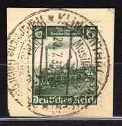 Deutsches Reich, 1935, Mi 580 Deutsche Eisenbahn 100, Gestempelt [020717XIX] - Deutschland