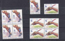 MICHEL NUM 929-930** EN BLOC DE 4 ET SERIE ISOLEE - HELSINKI 1983 JO. - Neufs