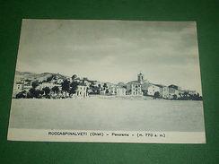 Cartolina Roccaspinalveti ( Chieti ) - Panorama 1953 - Chieti