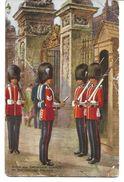 4157n: AK Tracht Buckingham Palace, London, Bestoßen, Gelaufen In Das III. Reich - Costumes