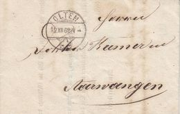 MIN LETTRE DE1868 - CACHET DE OLTEN - - ...-1845 Prefilatelia