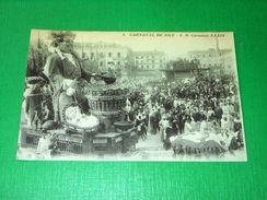 Cartolina Francia - Carnaval De Nice - S. M. Carnaval XXXIX 1910 Ca - Cartes Postales