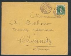 Schweiz .... -netter Beleg   (t3368 ) Siehe Bild ! - 1882-1906 Coat Of Arms, Standing Helvetia & UPU