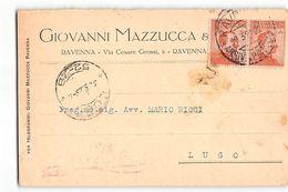B741 MAZZUCCA RAVENNA X LUGO - Marcophilie