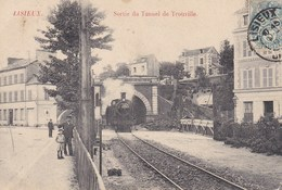 LISIEUX , Sortie Du Tunnel De TROUVILLE - Lisieux