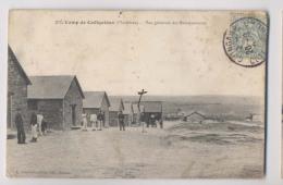 Camp De Coetquidan - 1907 - Vue Générale Des Baraquements - Animée - Autres Communes