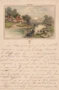 Illustrateur - Druck U Verlag Von B Dondorf N° 119 - Paysage Pont Rivière Barque - Künstlerkarten