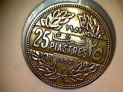 Liban 25 Piastres 1952 - Lebanon