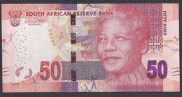 2016 - 50 Rand - FIFTY RAND - Unc - Governor Lesetja Kganyago's Signature - Sudafrica