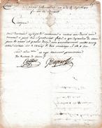 Révol.18 Messidor An 2 - Trois DÉSERTEURS ESPAGNOLS Cantonnés à AMBERT (63) Ont Désertés - Leur Signalement - Documents Historiques