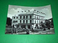Cartolina Misano Adriatico - Pensione Savoia 1957 - Rimini